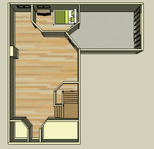 Bedroom TopView